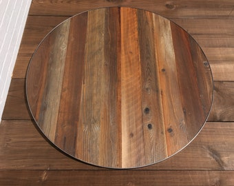 Round table round reclaimed table rustic table 48 inch round table reclaimed dining table table top round reclaimed coffee table