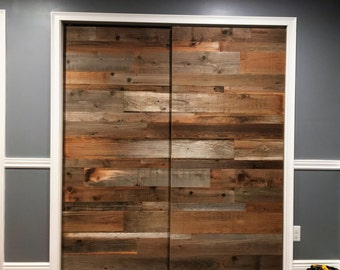 Barn Door sliding barn door reclaimed wood rustic door door sliding door barn wood door sliding barn doors