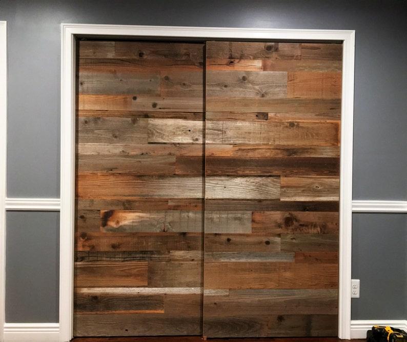 Barn Door Sliding Barn Door Reclaimed Wood Rustic Door Door Etsy