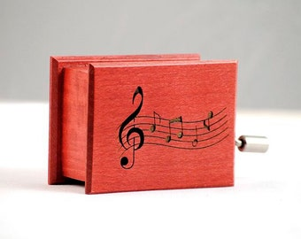 Personalized gift custom music box sheet music custom music own individual optional music
