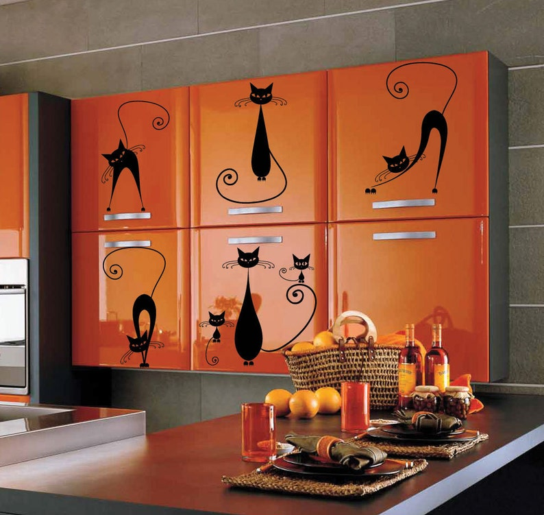 Cat Animal Children Car Art Wall Stickers  Wall Decals  Wall Mural from AmazingSticker