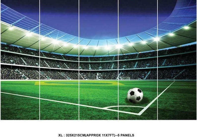 Football Pitch Wall Mural Wallpaper Ws 42395: Football Stadium Pitch Sports Wall Mural Photo Wallpaper