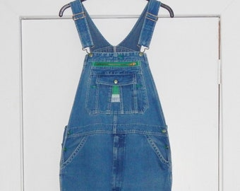706ec9ae3c4 Liberty Overalls Men s Denim Blue Jean Overalls Bib Overalls Carpenter  Cargo Style Tag Sz W 40 L 30 Baggy Overalls Vintage 80s ON SALE