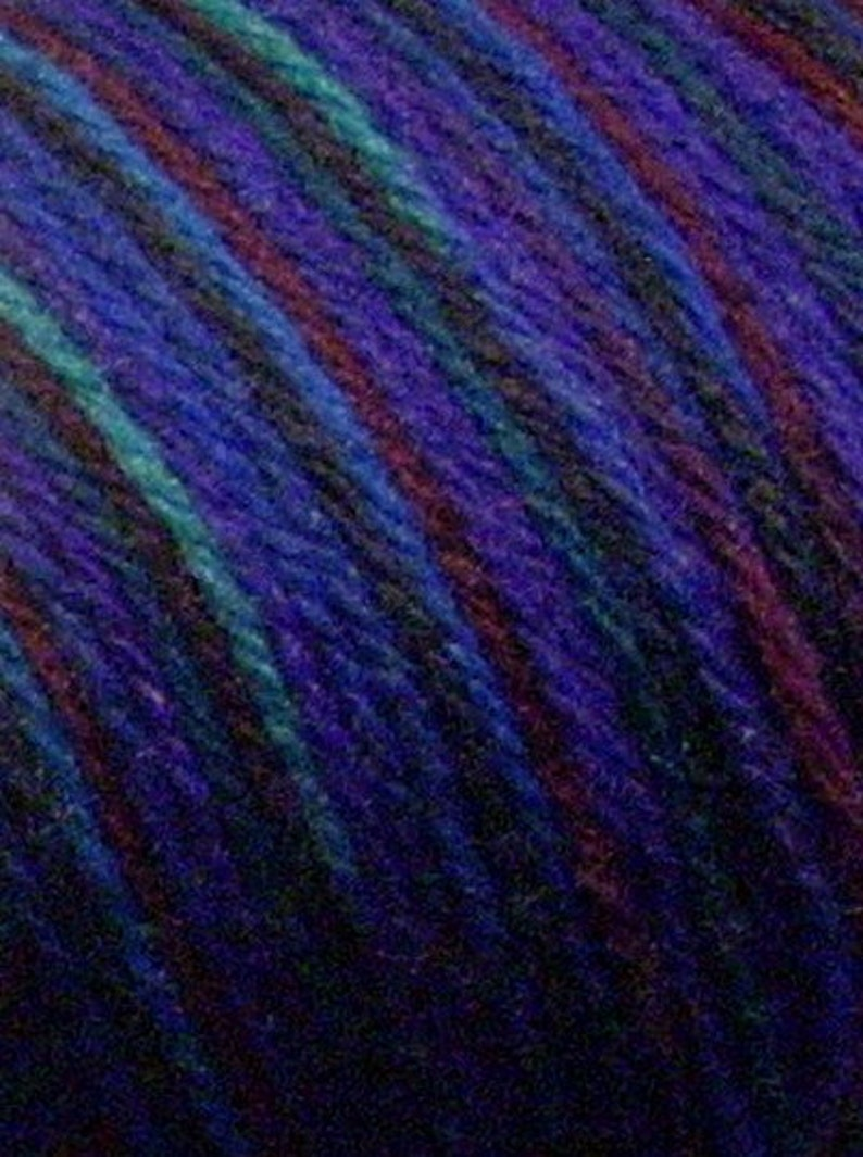 Brown Sheep Wool Wildfoote Sock Yarn Nebraska Yarn Rhapsody 200