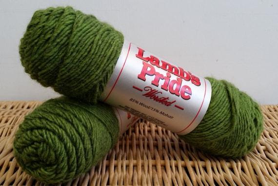 Worsted Wool Yarn Prairie Goldenrod 240 Lamb/'s Pride Brown Sheep Wool Blend Yarn Wool Mohair Worsted Yarn