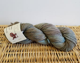 """Worsted Wool Yarn, Handpaint Wool Yarn, Fabrication """"She's in the Army Now"""""""