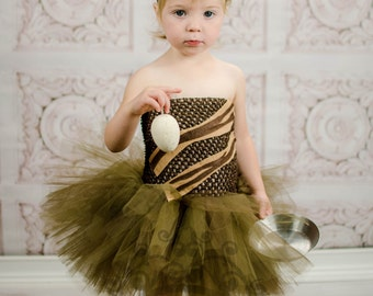 cute bacon tutu dress girls size newborn 3 6 9 12 18 months 2t 3t 4t 5 6 twin sibling food girly unique halloween costume