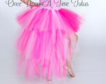 Pink Bustle Bustle Tutu Girl/'s Pink Bustle Kid/'s Bustle