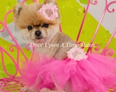 Hot Pink Princess Dog Tutu, Puppy Tutu Skirt, Dog Halloween Costume, Fur Baby, Pet Birthday, Xxs XS Small Medium Large Extra Large Xxl Xxxl