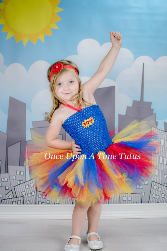 Superhero Tutu Dress