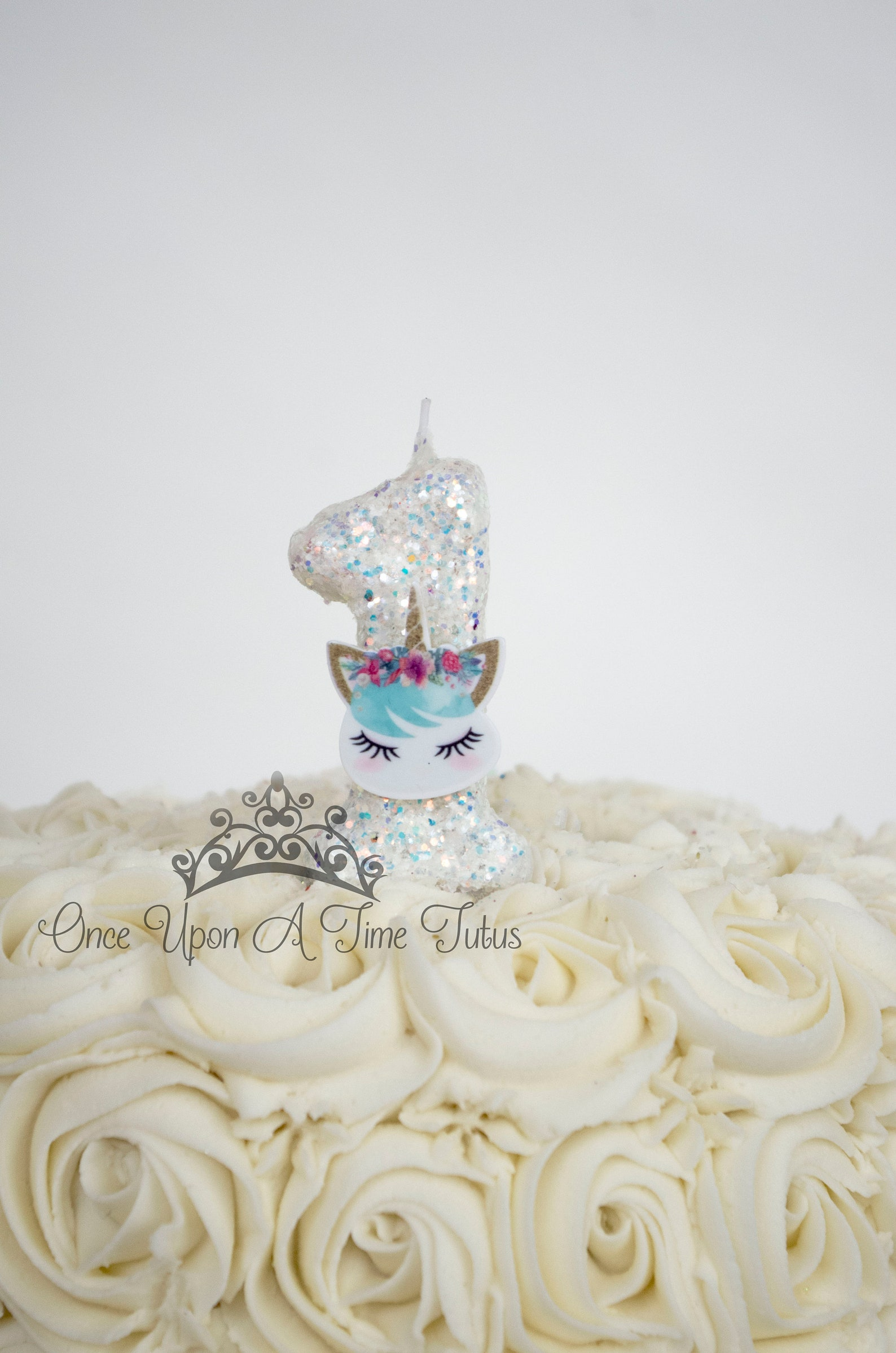 Unicorn Number Birthday Candles Page Two