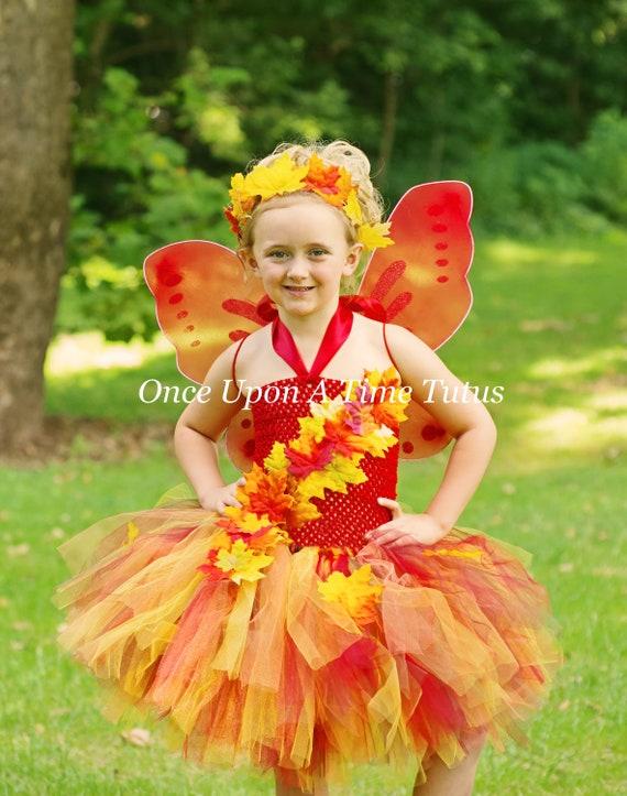 Autumn Fairy Wand Flower Pink Orange Pixie Dress Up Halloween Costume Accessory