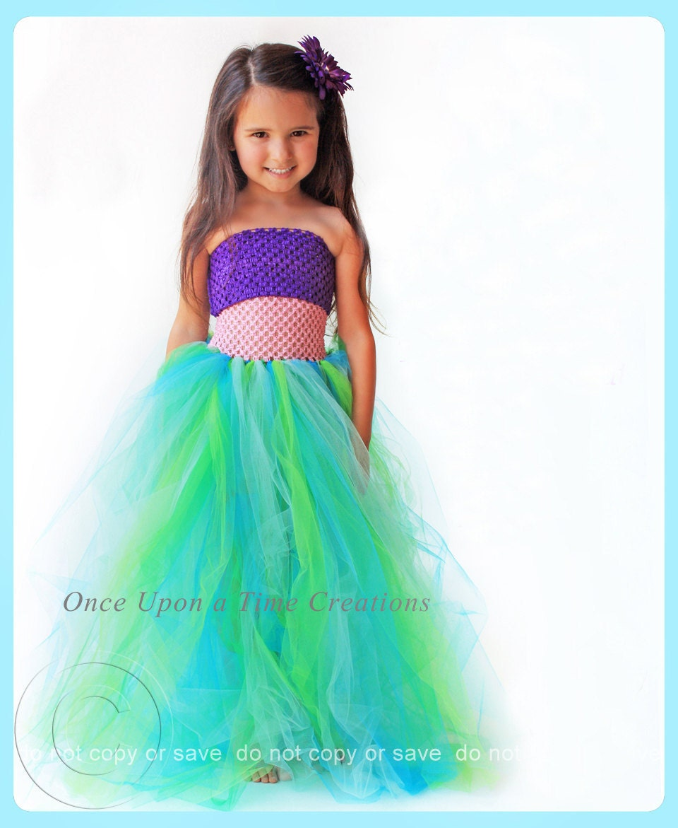 Halloween Costumes For Girls Age 10.Mermaid Princess Tutu Dress Birthday Outfit Photo Prop Halloween Costume Little Girls Size 6 12 18 Months 2t 3t 4t 5t 6 7 8 10 12