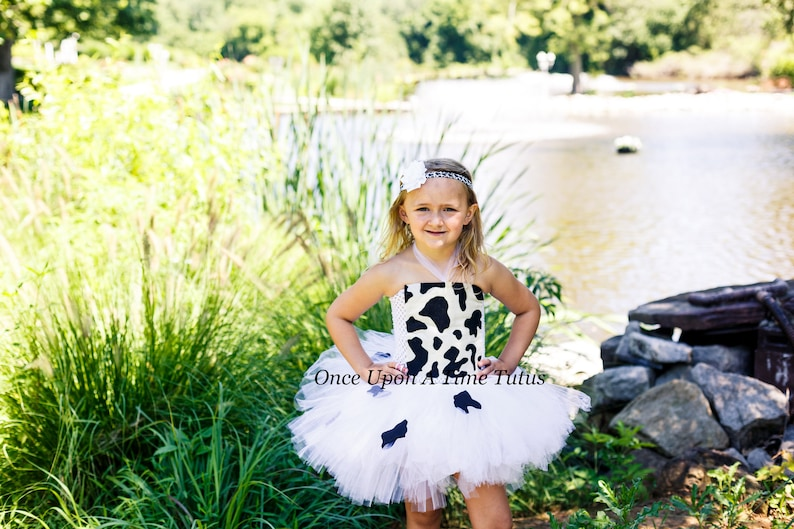 046f574f15f2e Cow Tutu Dress Birthday Infant Baby Little Girl Cute Farm | Etsy