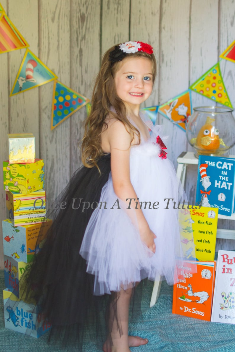 Penguin Baby Infant Size Newborn 3 6 9 12 Months Toddler Kids Girls 12M 2T 3T 4T 5 6 7 8 10 12 14 Fur Bow Skunk Dress Wacky Cat Tutu Dress