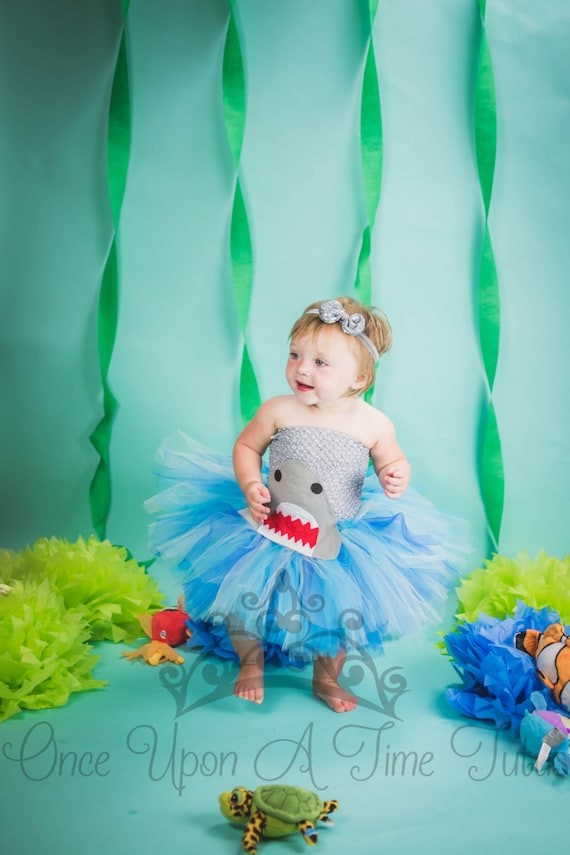 Hai Wasser Tutu Kleid Grosse Baby Neugeborene 3 6 9 12 18 Etsy