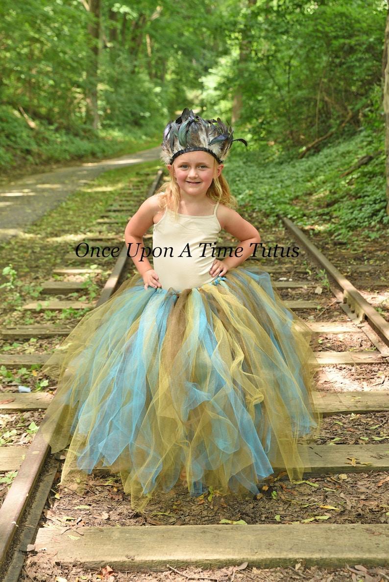 99926aa98f Native American Inspired Tutu Skirt Little Kids Girl Child | Etsy