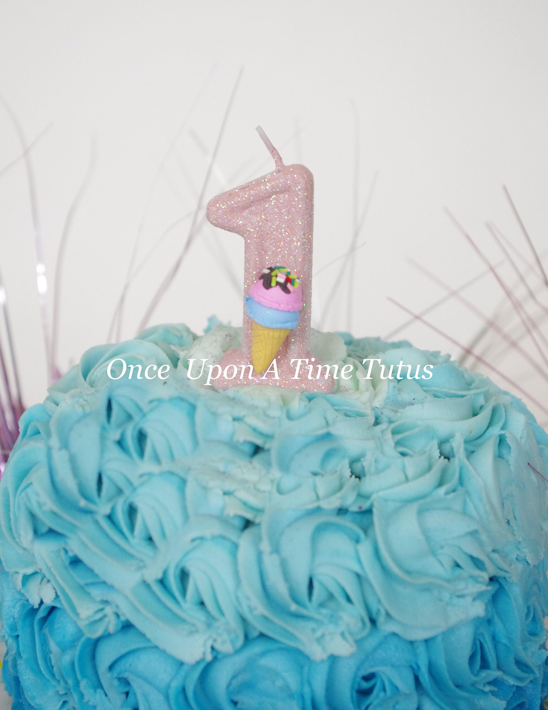 Phenomenal Pink Glitter Birthday Candle Ice Cream Cone Birthday Party Etsy Funny Birthday Cards Online Sheoxdamsfinfo