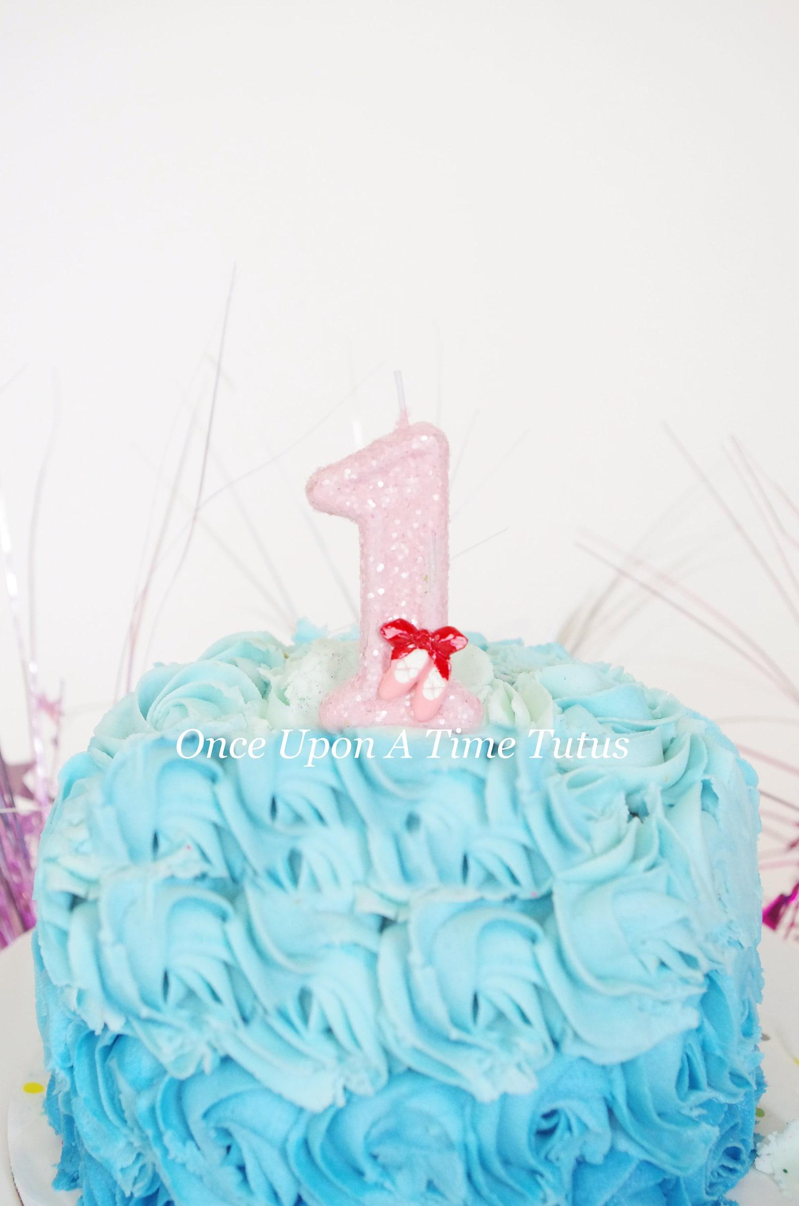 pink ballet glitter birthday candle - ballerina dancer party decor supplies photo prop sparkly sparkle cake topper keepsake stan
