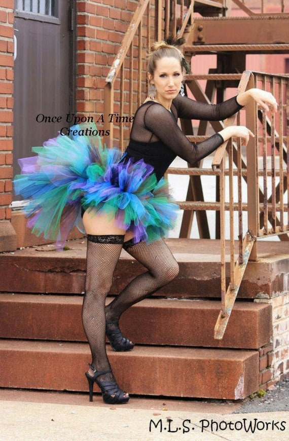 Peacock Costume Peacock Tutu Peacock Tutu Costume,Women/'s Peacock Tutu,Halloween Tutu Costume Adult Peacock Tutu,Teen Peacock Tutu tutu