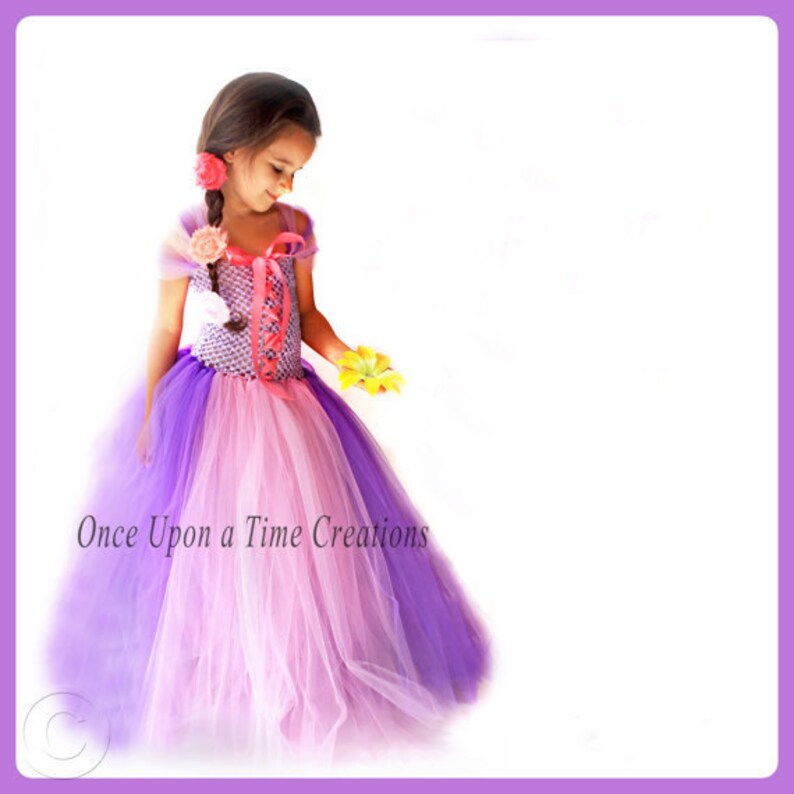 Pink Fairytale Princess Little Girls Dress 12M 2T 3T 4T 5T Halloween Costume
