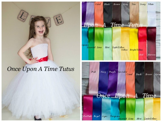 825ea255a111 Customizable White Red Tutu Dress Holiday Tulle Flower Girl