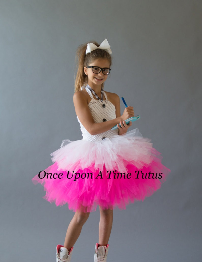 a700305b5f7b3 Retro Waitress Tutu Dress Soda Shop Halloween Costume