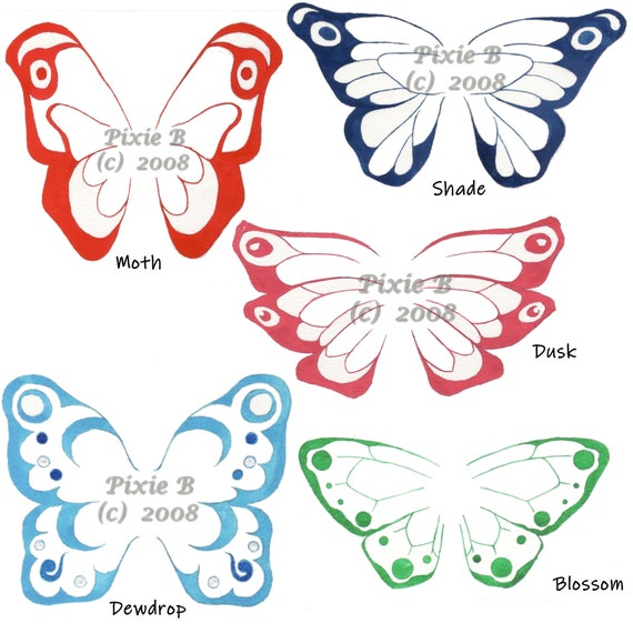 Made to order PAIR of wings for those with hearing loss Custom Hearing Aid Fairy Wings costume fairy ears /& butterfly wings
