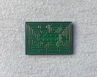 The Shining Overlook Hedge Maze Soft Enamel Pin