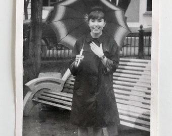 Original Vintage Photograph | April Showers