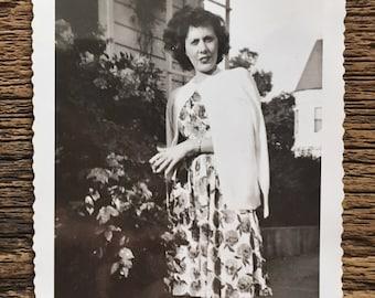 Original Vintage Photograph | Elizabeth at Home