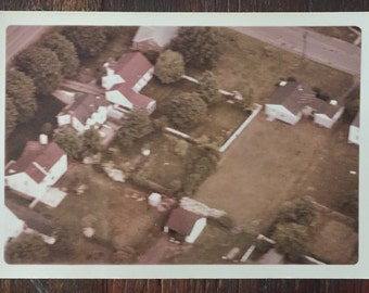 Original Vintage Color Photograph Atwells House on Lakeview