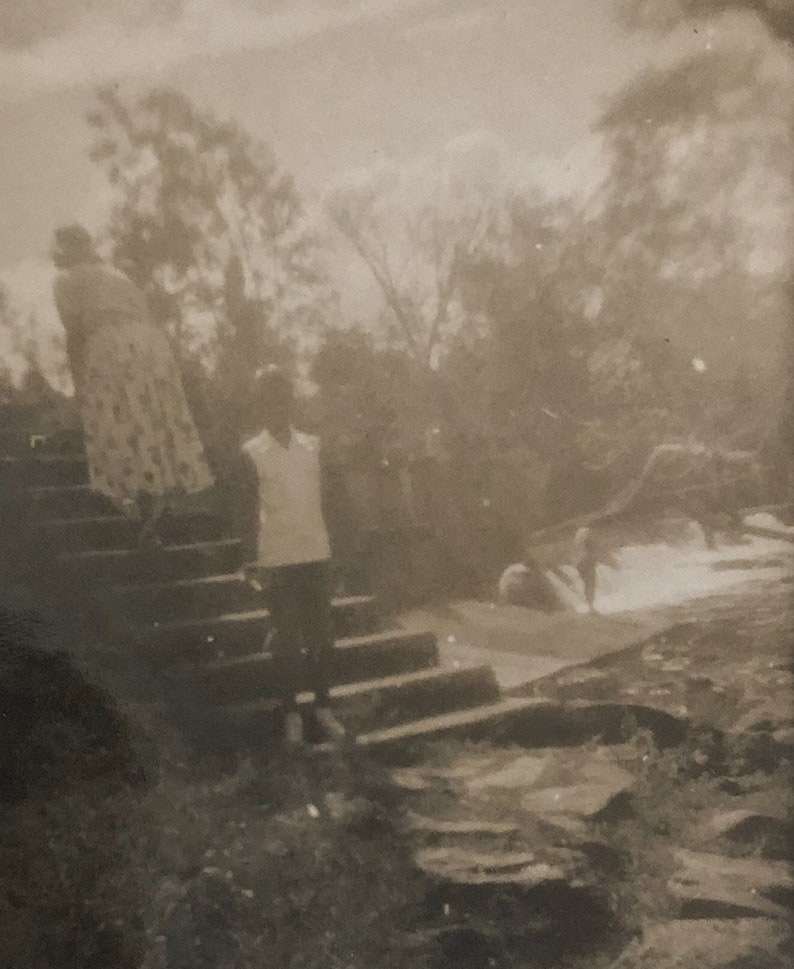 Original Antique Photograph The Wanderlust