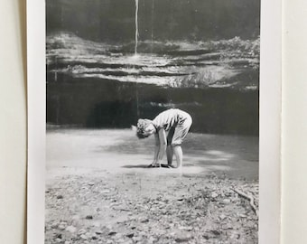 Original Vintage Photograph | Water in the Canyon