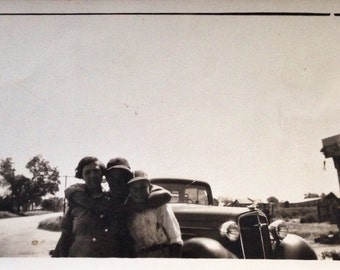 Original Vintage Photograph | Best Road Trip Ever