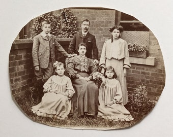 Original Antique Photograph | The Carringtons