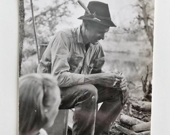 Original Vintage Photograph | With a Feather in His Cap