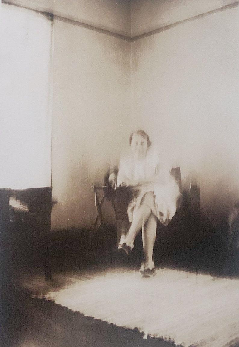 Original Vintage Photograph The Dread