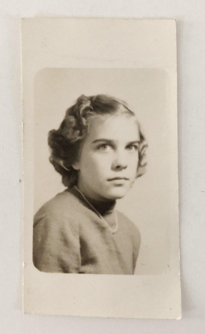 Kendra Original Vintage Portrait Photograph