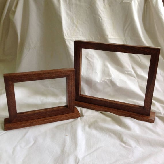 Double Side Picture Frame Two Side Frame Double Sided Frame 2 Side Frame Reversible Frame Menu Frame 5x7 Picture Frame 8x10 Frame
