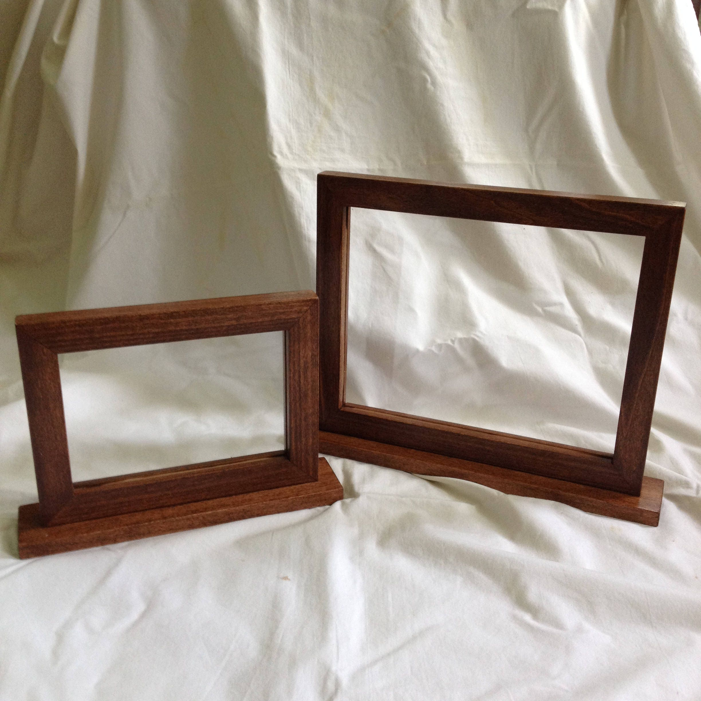 Double Side Picture Frame Two Side Frame Double Sided Frame Etsy