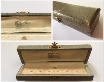 antique french jewelry box depose france