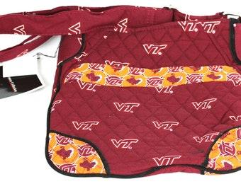 Virginia Tech Hokies Sidewinder Bag-Virginia Tech Hipster Bag-Virginia Tech  Quilted Bag 95bd16619abe2