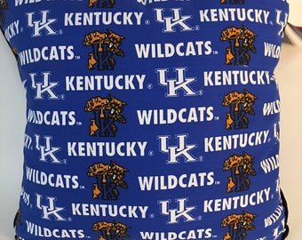 University of Kentucky Throw Pillow-Kentucky Wildcats Accent Pillow-Perfect for Dorms, Dens, Bedrooms, Cars, etc