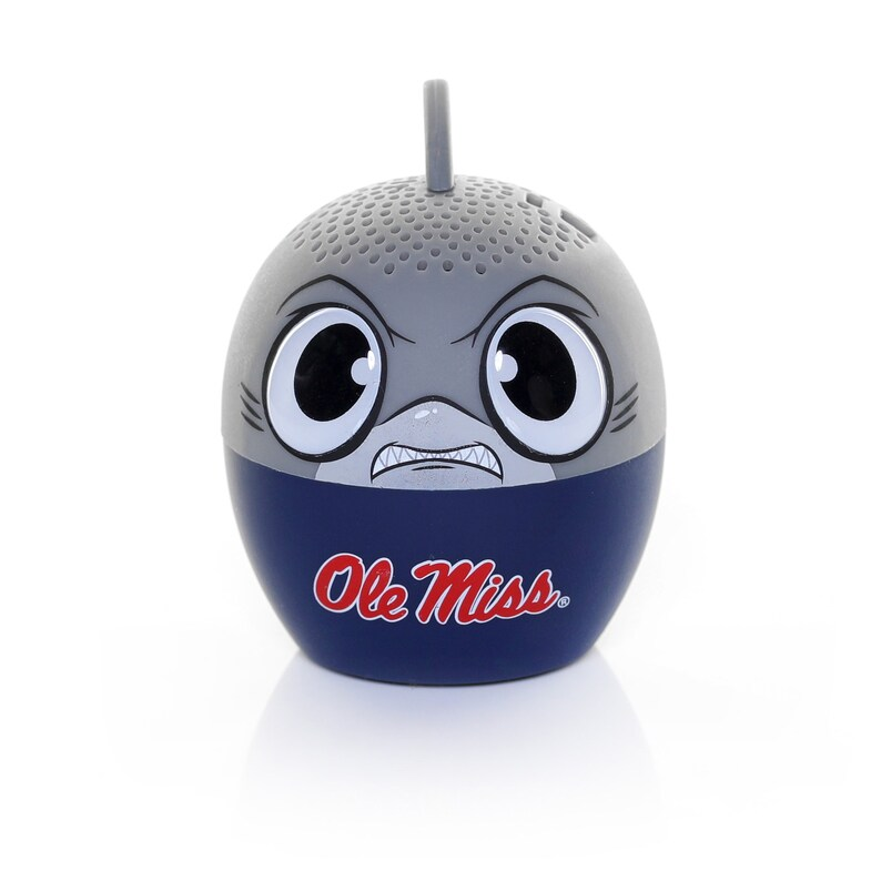 University of Mississippi Bitty Boomer-NCAA Bitty Boomer-Portable Wireless Bluetooth Speaker-Awesome Sound