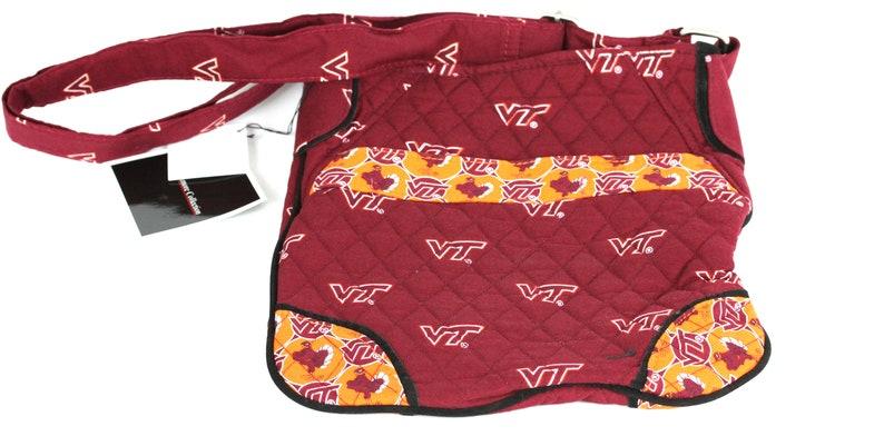 Virginia Tech Hokies Sidewinder Bag-Virginia Tech Hipster Bag-Virginia Tech Quilted Bag