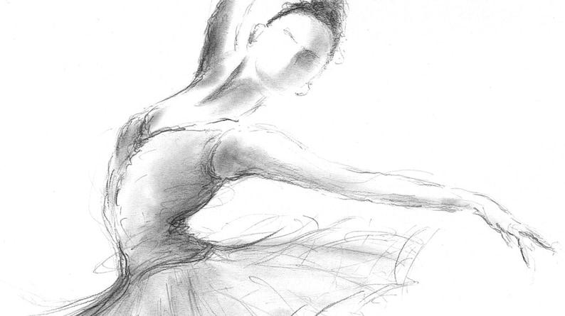 Disegni Di Ballerine Da Disegnare : Disegno di ballerina da stampare: disegni facili da disegnare disney