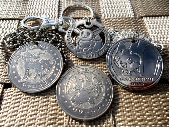 Pokemon Center Metal Charm # 016 017 018 Pidgey Pidgeotto Pidgeot Key Chain