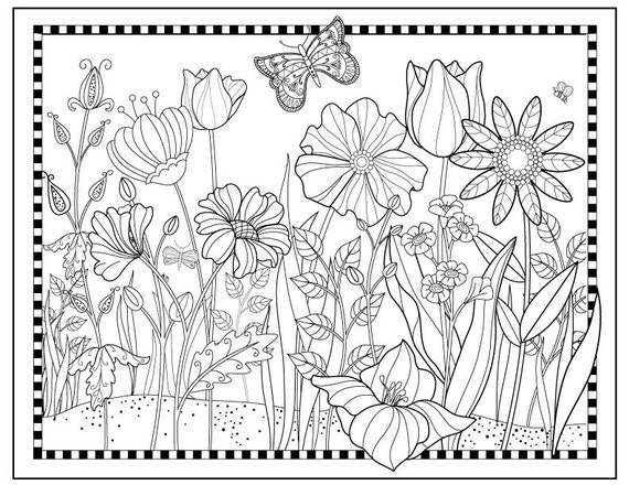 bed pattern coloring pages-#9