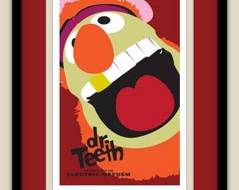 The Muppets - Dr Teeth and the Electric Mayhem 12x18 Poster